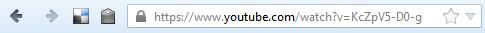 URL des Videos kopieren